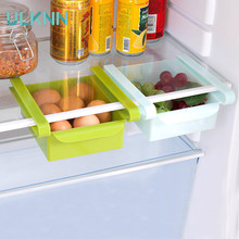 Creative Collection Rack for Refrigerator Fresh The Diaphragm Layer is Used to Collect Shelves Plstic Storage Rack 2PCS