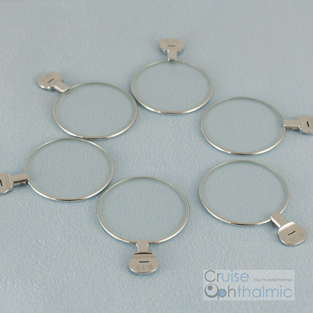 5pcs Free Shipping Optical Ophthalmic lenses Trial lenses for trial lens set Metal rim DIA 38mm