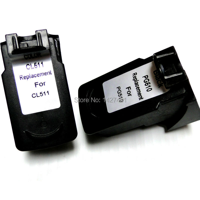 YOTAT Remanufactured <font><b>Ink</b></font> <font><b>cartridge</b></font> PG510 CL511 PG-510 CL-511 for <font><b>Canon</b></font> PIXMA MP230 MP250 <font><b>MP260</b></font> MP280 MP480 MP495 image