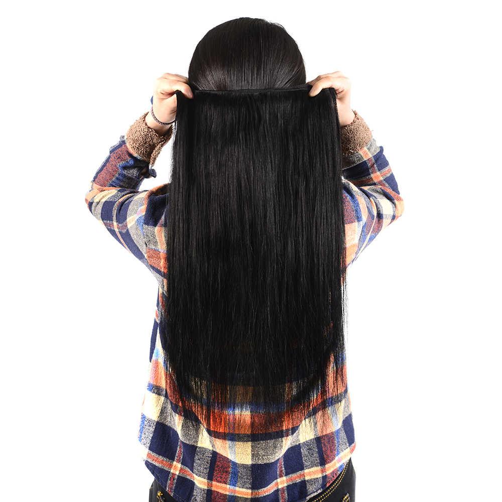 Doreen бразильские прямые натуральные волосы Weave Связки 1/613 шт.. # 1B #2 #4 #8 #27 #60 # светлые волосы пучки 20 волосы 24 26 волосы remy