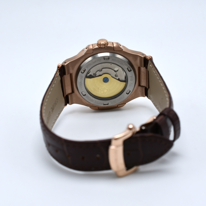 HTB1.1eNbGLN8KJjSZFKq6z7NVXah PETER LEE Sport Classic Men Watch Top Brand Leather Straps Mechanical Watch Fashion Male Clocks Business Unisex Watches Gift