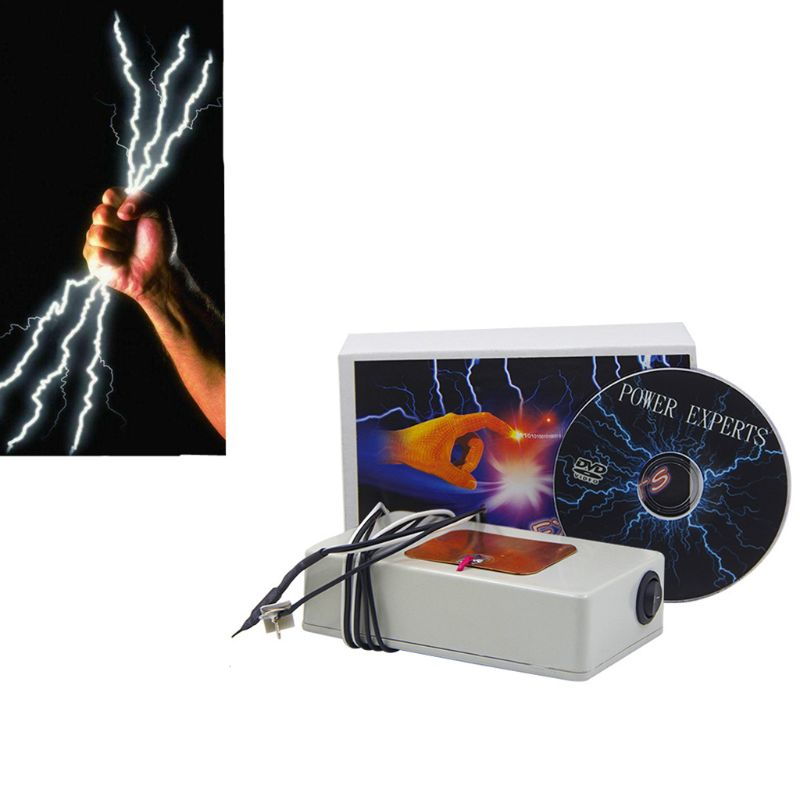 Classic Toys Safe Static Electricity Discharge Magic Toy Power Experts Magnetic Control Magic Tricks Close Up Street