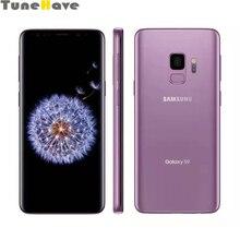Samsung Galaxy S9 G960U Оригинальный разблокированный 5,8 «4 Гб Оперативная память 64 Гб Встроенная память 12MP Восьмиядерный отпечаток пальца, 4G, LTE, смартфон, Snapdragon845 NFC