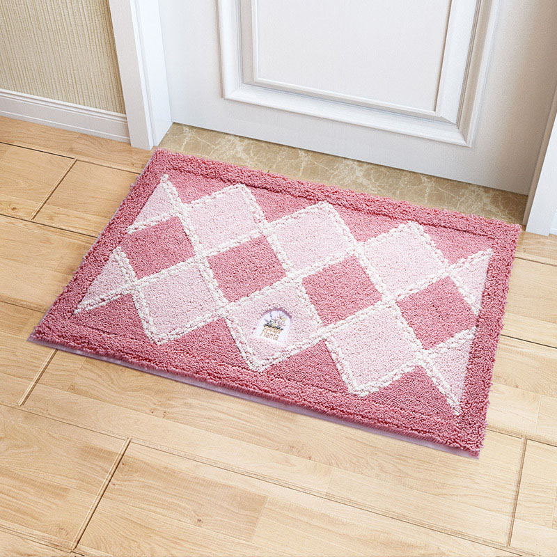 Cute plaid carpet kids room kitchen rugs bathroom carpet for Cute rugs for cheap