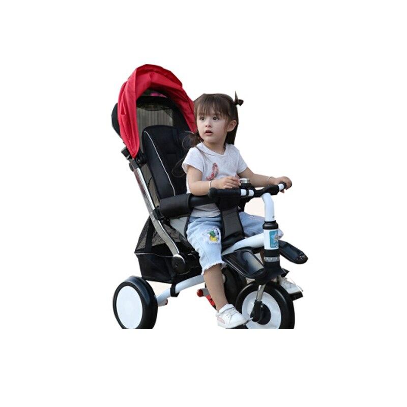 Abdo 2019 nouveau chariot à Tricycle pour enfants léger vélo de voiture pour enfants facile à transporter chariot de poussette de bébé