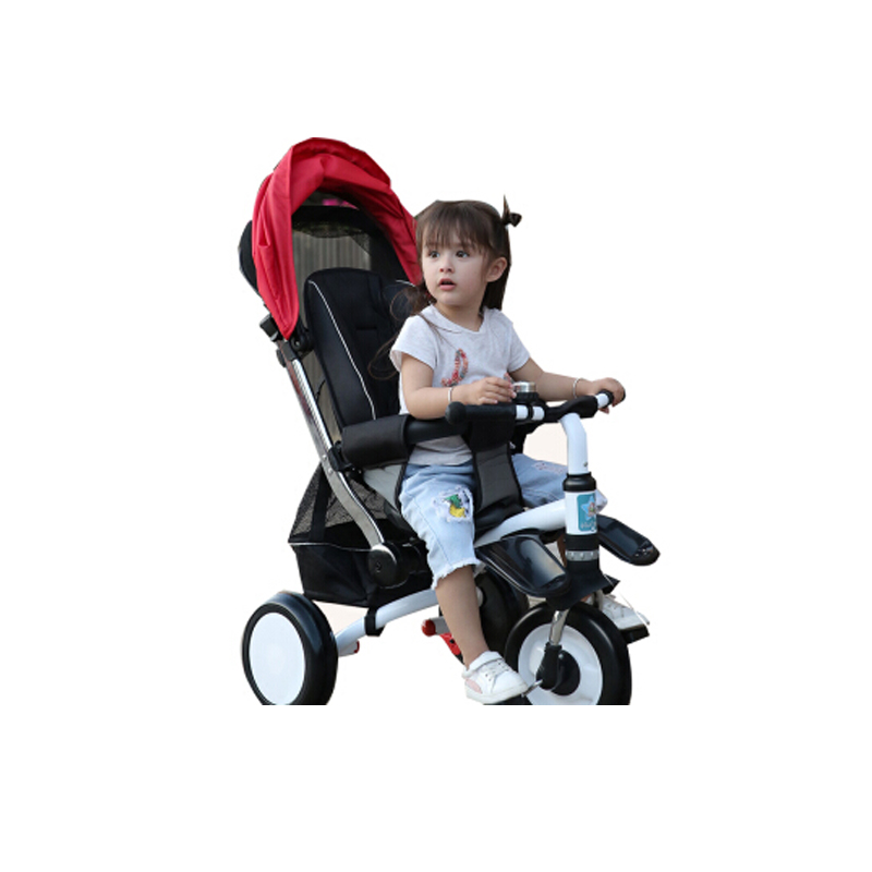 abdo 2019 New Childrens Tricycle Trolley Lightweight Children Car Bicycle Easy To Carry Baby Stroller Carriage