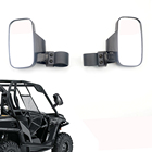 "For Polaris RZR 800 900 1000 For Can Am 2"" 1.75"" Rear View mirror Break-Away Side Mirrors Shock-proof UTV mirror Rhinos"