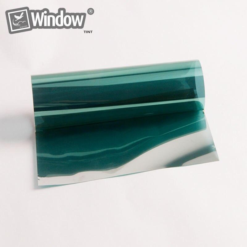 1.52x30 м Зеленый Цвет зеркальный эффект высокоглянцевые металлизированной Pet Плёнки для Термальность или горячего ламинирования дома окна Пл