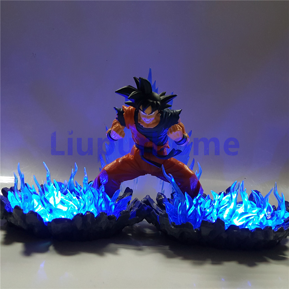 Dragon Ball Z Led Light Action Figures Goku Super Saiyan Anime Dragon Ball Super Son Goku Christmas Gift Dbz Led Light Relieving Rheumatism And Cold Lights & Lighting Led Night Lights