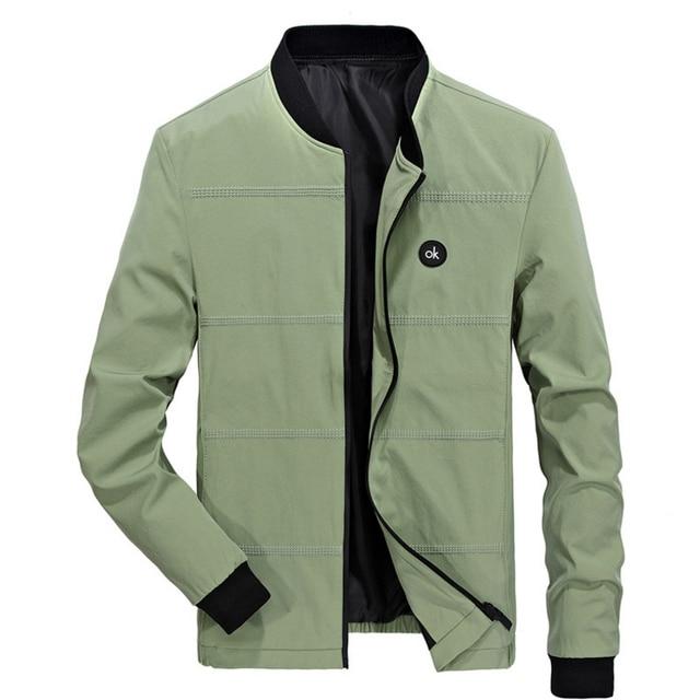71300aa096357 Chaquetas Moda hombre abrigo chaqueta rompevientos hombres sobretodo casual  bombardero jaqueta masculina Veste homme