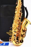 High Quality Alto Saxophone Hot Selmer 802 E Flat Alto Saxophone Music Professional Grade Saxophone UPS
