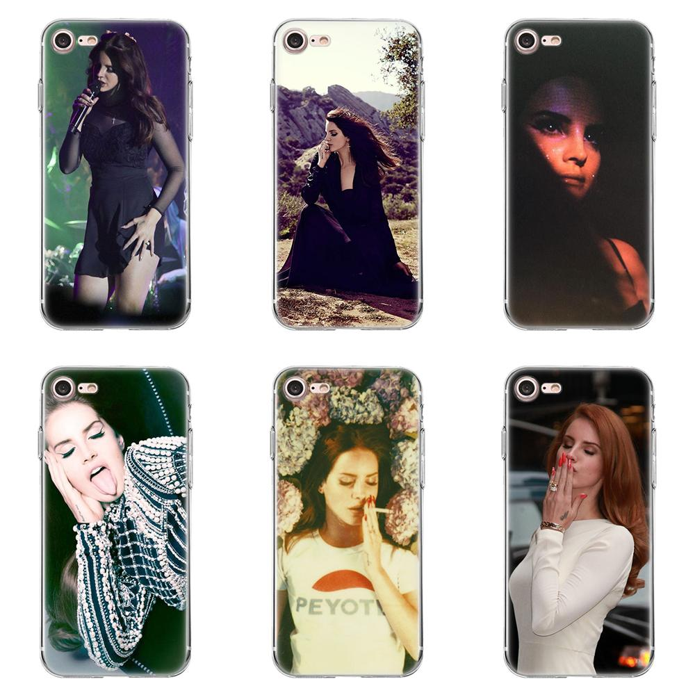 Tpwxnx lana del rey Beautiful Soft Mobile Shell For Huawei G8 Honor 5C 5X 6 6X 7 8 9 Y5II Mate 9 P8 P9 P10 P20 Lite Plus 2017