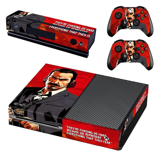US $7 99 |Red Dead: Redemption 2 Vinyl Skin Decal Cover for Microsoft Xbox  One Console & Kinect & 2 controller skins -in Stickers from Consumer