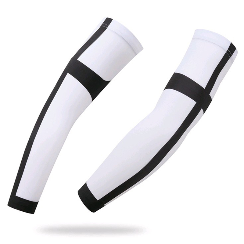 Novel Cool Cycling Bike Bicycle Arm Warmers Cuff Sleeve Cover Sun Protection US