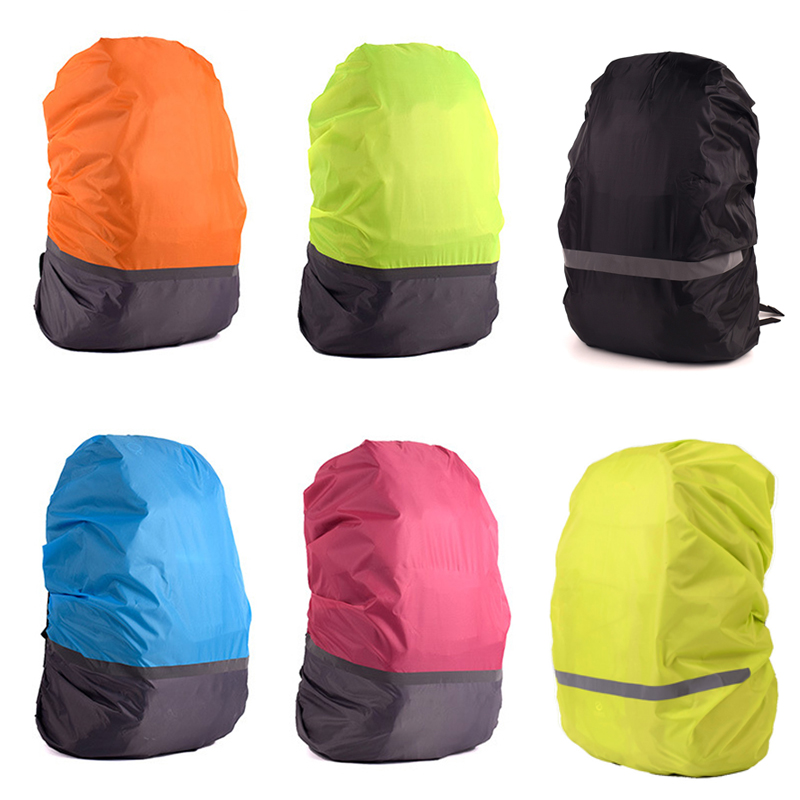 30L-70L Rain Cover Backpack Reflective Light Waterproof Bag Camo Tactical Outdoor Camping Hiking Climbing Dust Raincover
