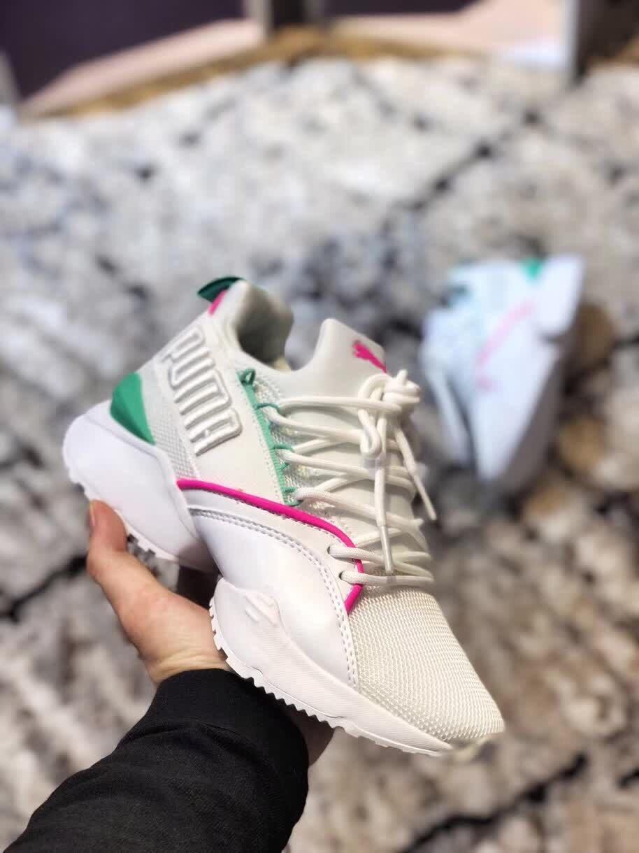 HOT 2018 PUMA Women's Muse Echo Satin EP Sneakers Badminton shoes Size 36 40