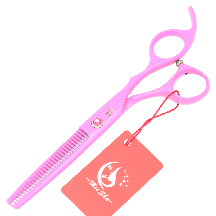 6.0Inch Meisha Hairdressers Scissors for Kids Thinning Scissors Japan 440C Hair Bang Cutting Shears Barbers Styling Tools HA0221