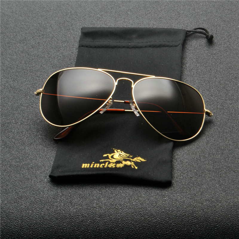 2018 Men mirror Polarized Sunglasses Classic Men Retro Shades Brand Designer Pilot Sun glasses Women Retro Glasses goggle FML 5