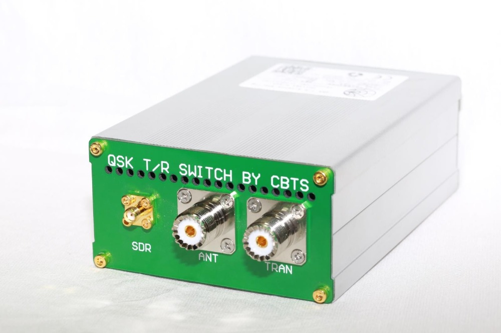 2019 nouvelle version du dispositif de partage d'antenne de la quatrième génération 1.8 Mhz-50 Mhz commutateur QSK TX/RX pour SDR et Radio
