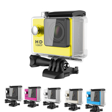 Freeshipping 2.0″ HD 1080P Sports Cam A8 30meter Waterproof Action Camera For Diving 120DEG TF Card Slot Mini Sports DV Recorder