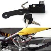 For Yamaha MT 09 MT09 FZ 09 FZ09 13 17/XSR900 15 16 FS Black Helmet Lock & Keys Parts