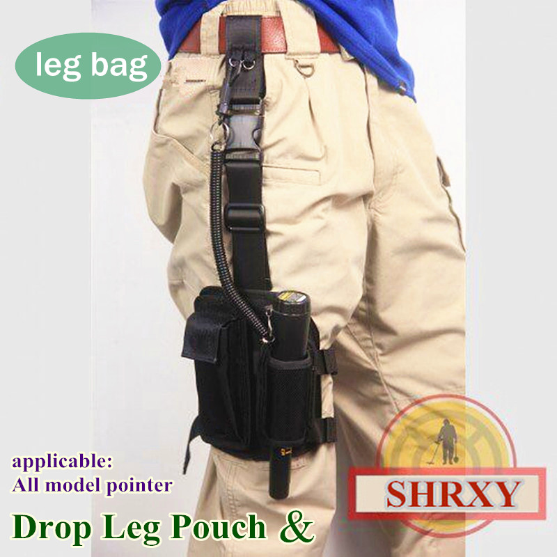 SHRXY Pointer Metal Detector Holster Drop Leg cloth Cover Pouch for Xp Garrett Pro Pointer detector ProFind Fitting cloth Bag