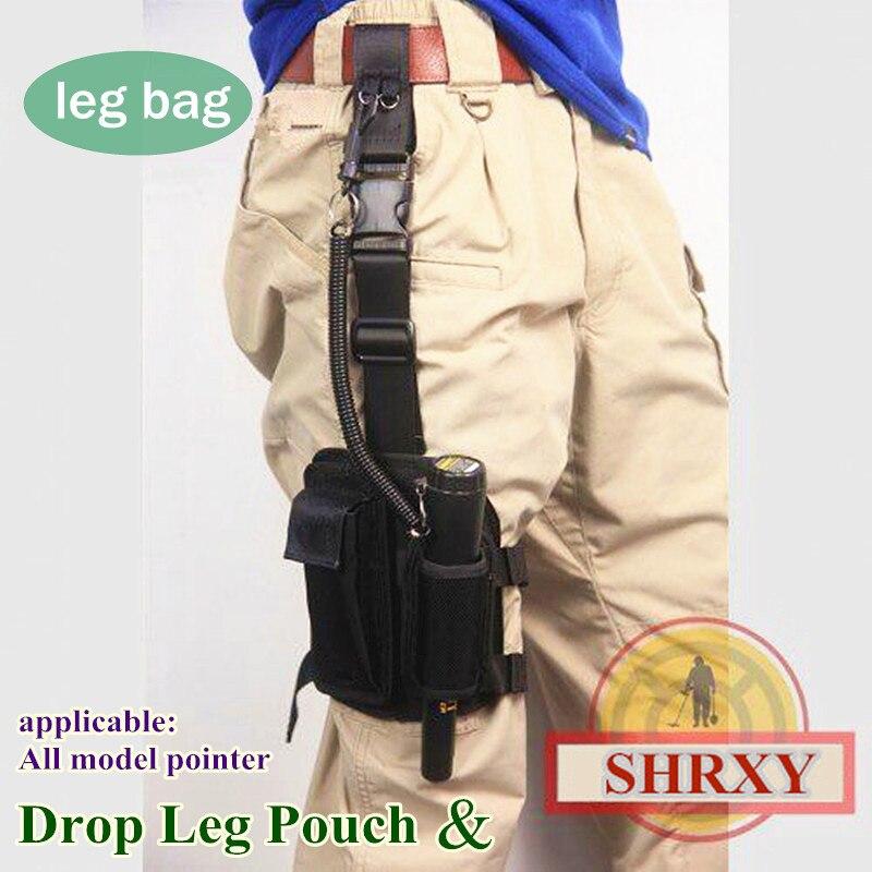 SHRXY Pointer Metall Detektor Holster Drop Bein tuch Abdeckung Beutel für Xp Garrett Pro Pointer detektor ProFind Fitting tuch Tasche
