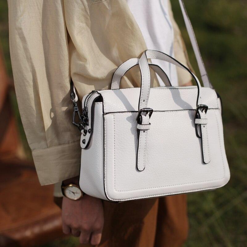 Véritable Messager Hobo 2018 Dames Élégant Cuir Doux Mode Nouvelle Épaule blanc Sacoche Main Gland Blanc À 1 Sac Femmes Réel En xTrw1SIx6