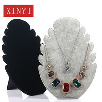 Jewelry Boxes Limited Porte Bijoux 2019 New Korean Version Jewelry Rack Flannel Necklace Display Counter Reception Props Board