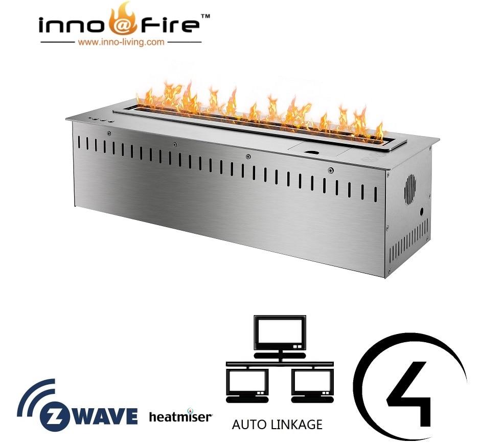 Inno living fire 48 inch chimenea bioetanol intelligent wifi control
