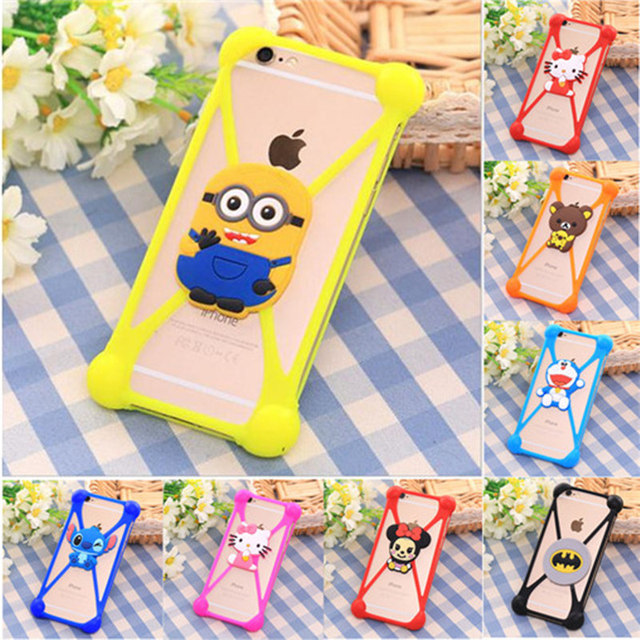 Universal Soft Silicone Cartoon Case Cover For Acer Liquid E2 Duo V370 Jade Z S57 S55 E3 E380 E600 E700 E39 S S56 S510 Coque