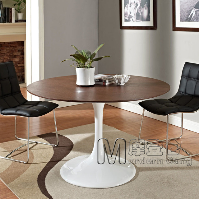 Ordinaire Modern Warehouse TULIP TABLE Tulip Wood Round Table Wooden Desk Surface Wood  Dining Table Dining Table