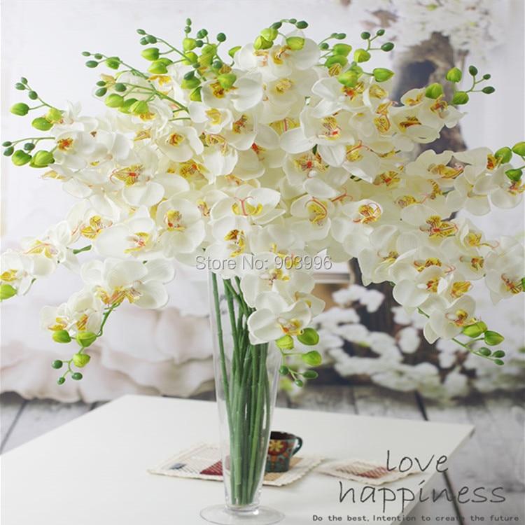 SPR 30 stks / partij kunstmatige vlinder orchidee zijde bloem - Feestversiering en feestartikelen - Foto 3