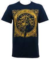 Gildan Authentic BLACK LABEL SOCIETY BLS Odin Demolition Squad T Shirt Navy S 2XL NEW Men