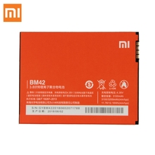 Xiao Mi Original Replacement Battery BM42 For Xiaomi Redmi Note 1 Authentic Phone 3200mAh