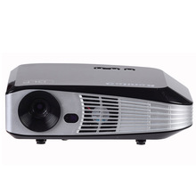 Full HD DLP Projector 4K 3D Projector Support 2160P With RJ45/ USB*3/ HDMI Input Ports 5500Lumens Beamer