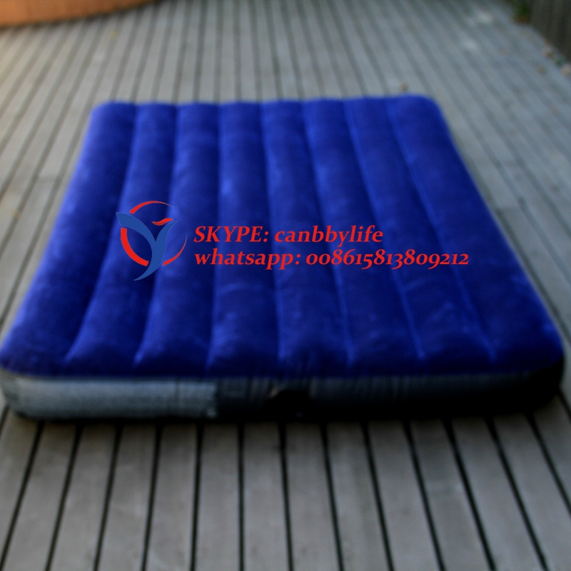 Buy Intex Double Inflatable Camping Air Mattress Bed Full Size