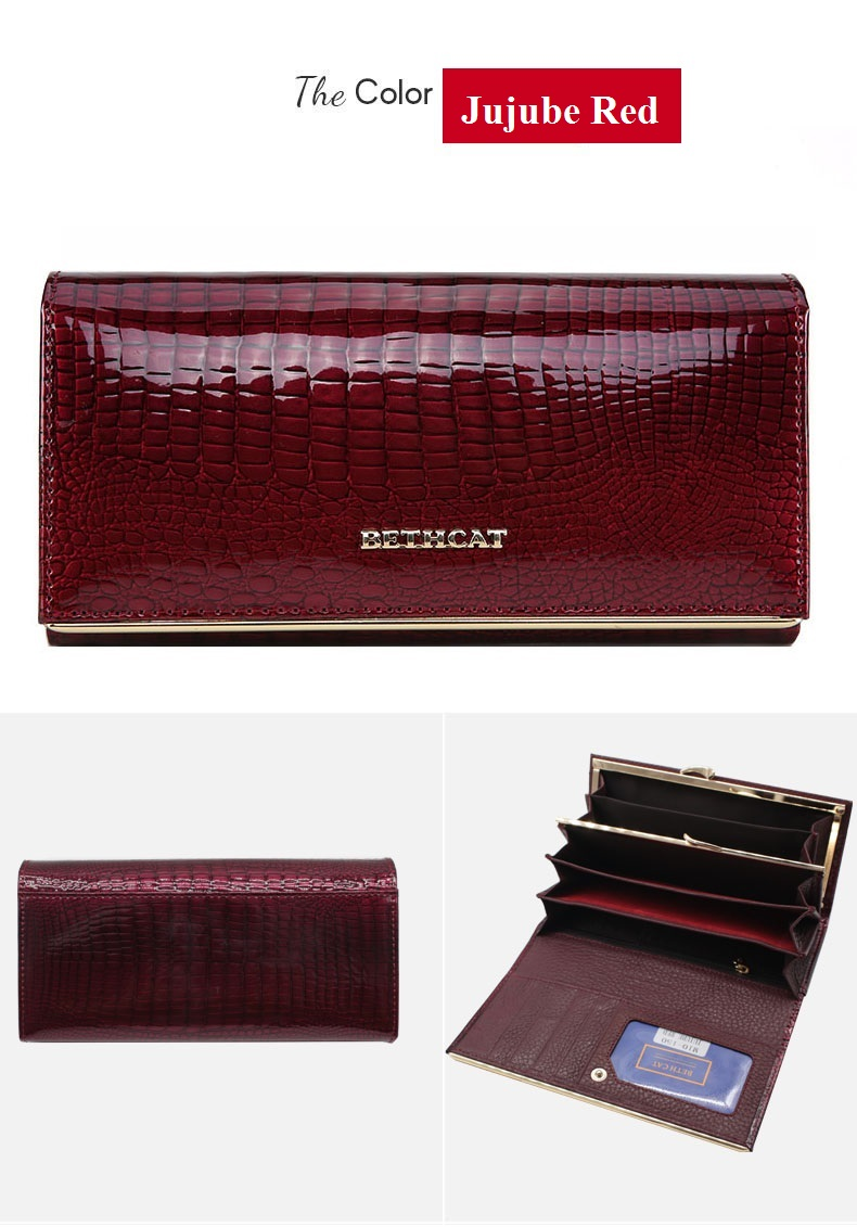 Women Wallets Brand Design High Quality Leather Wallet Female Hasp Fashion Dollar Price Alligator Long Women Wallets And Purses-20170605_130018_015
