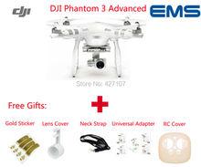 Envío rápido DJI Phantom 3 Avanzada RC Quadcopter W/1080 P Cámara Gimble Brushless Sistema de GPS A Través de EMS