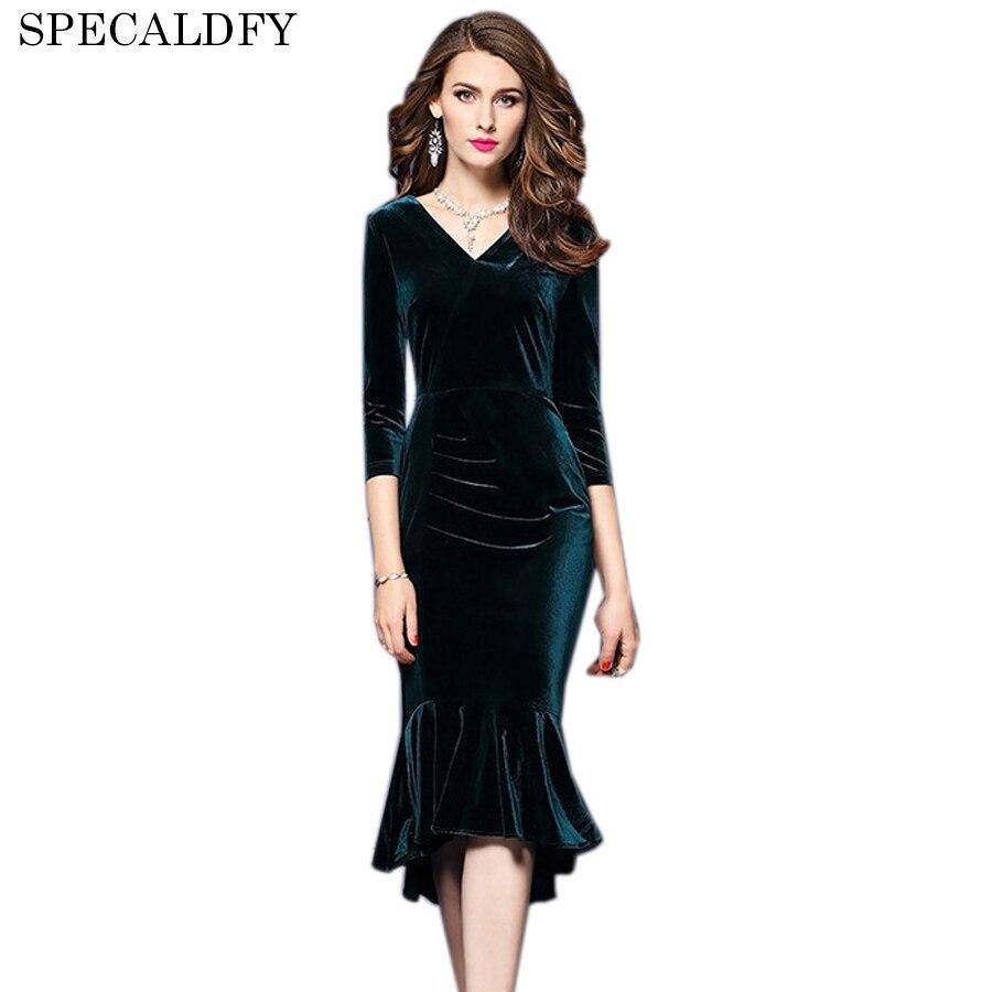 Designer Runway Dresses 2018 Women High Quality Autumn