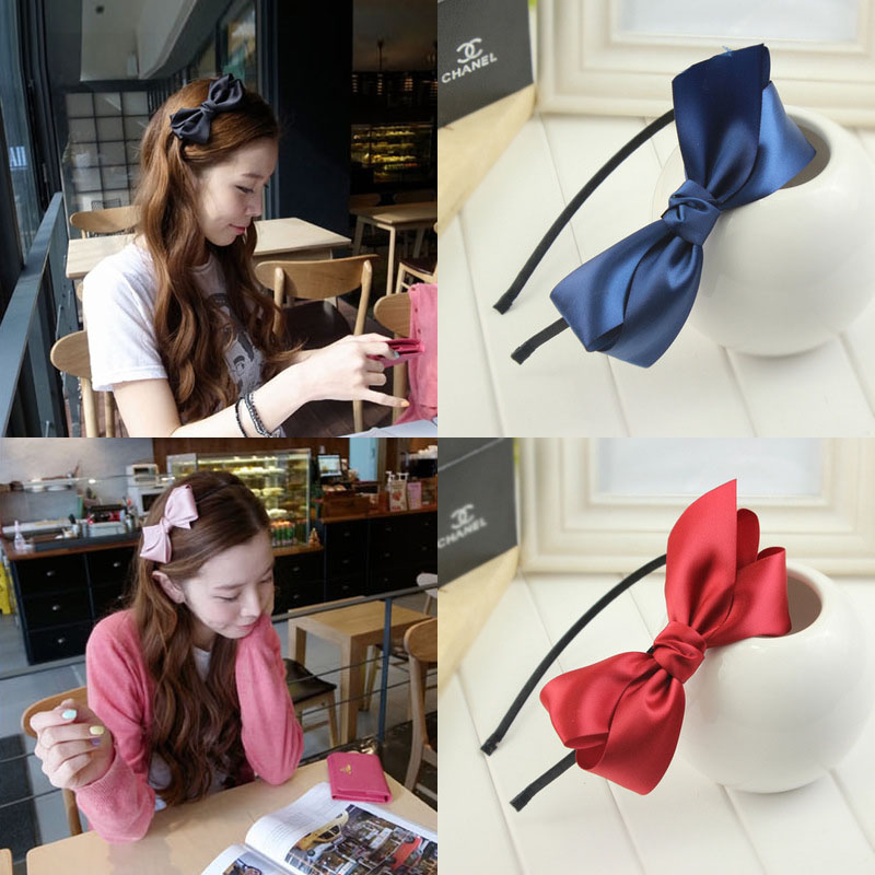 New Girls Flowers Print Floral Bow Hairband Turban Knot Heads