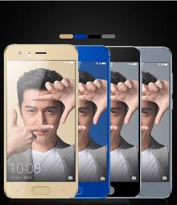 Image 2 - Pour Huawei honor 9 verre trempé pour Huawei honor 9 protecteur décran couverture complète 2.5D gris pour Huawei honor9 film de verre 5.15