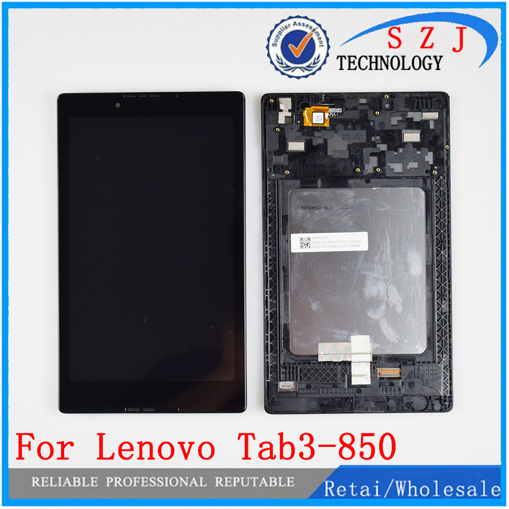 New For Lenovo TAB3 8.0 <font><b>850</b></font> 850F 850M TB3-<font><b>850</b></font> TB3-850M TB-850M Tab3-<font><b>850</b></font> Touch Screen Digitizer Glass + LCD Display Assembly image