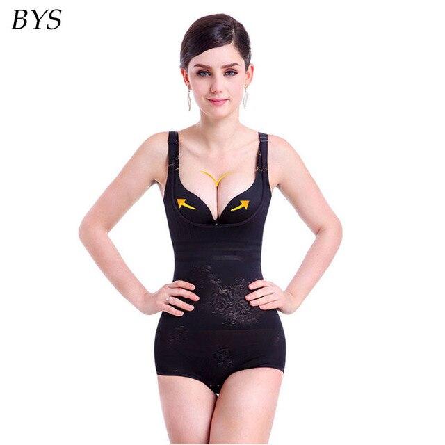 445a1b51df Women Control Waist Slimming Shapewear Bodysuit Postpartum Recover Stretch  Underwear Butt Lifter Ladies Female Corset Minceur