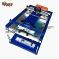Pantalla de impresión manual a la máquina, máquina de impresión de pantalla en las tazas, máquina de impresión de pantalla de escritorio