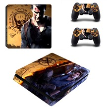 Uncharted 4 Vinyl Skin Decal PS4 Slim Sticker
