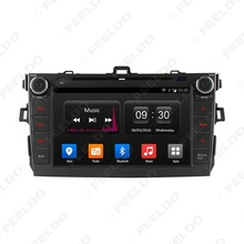 8″ inch Android 4.4.4 Quad Core Car DVD GPS Radio Head Unit For Toyota Corolla  2006~2011 #FD-4518