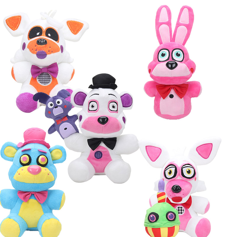 Koala Stuffed Animals Mini, 15 25cm Sister Location Five Nights At Freddy S Plush Toy Funtime Freddy Foxy Fnaf Stuffed Animals Plush Toys Keyring Pendant Action Toy Figures Aliexpress