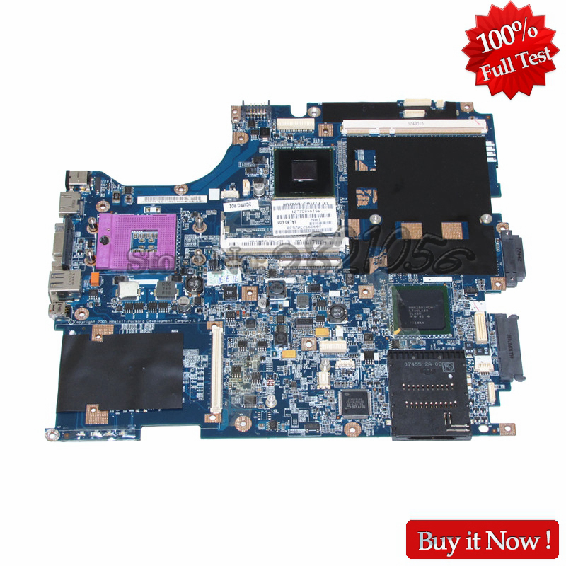NOKOTION for HP Compaq 8710W 8710P laptop motherboard SPS 450482-001 PM965 DDR2 with graphics slot 538408 001 578969 001 main board for hp compaq cq511 610 laptop motherboard pm965 ddr2 ati gpu with free cpu