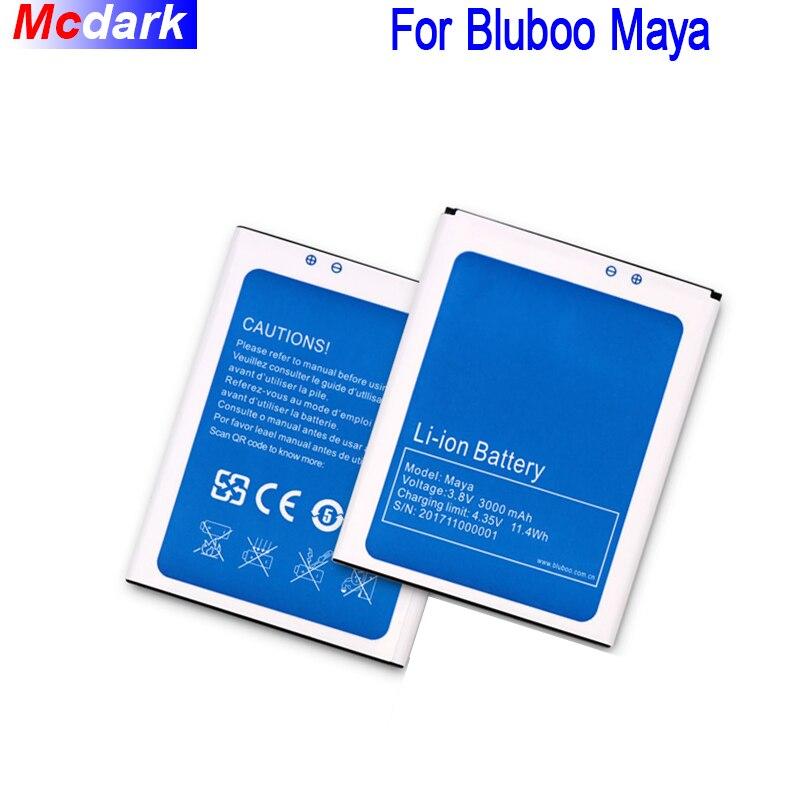 Mcdark 3000 mah Batterie Für Bluboo Maya Batterie Bateria Akkumulator AKKU AKKU PIL Telefon Ersatz Batterien Für Bluboo Maya